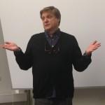 Scott föreläser